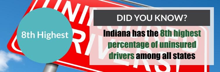 uninsured indiana drivers