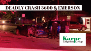 EMERSON CAR CRASH