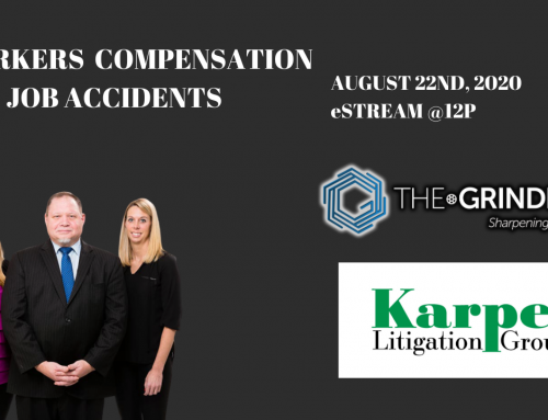 E-Seminar – Workers Compensation and Job Accidents
