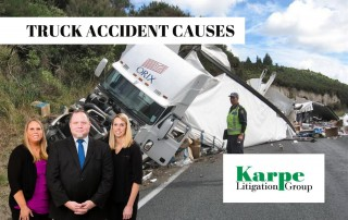 causes accidents trucks
