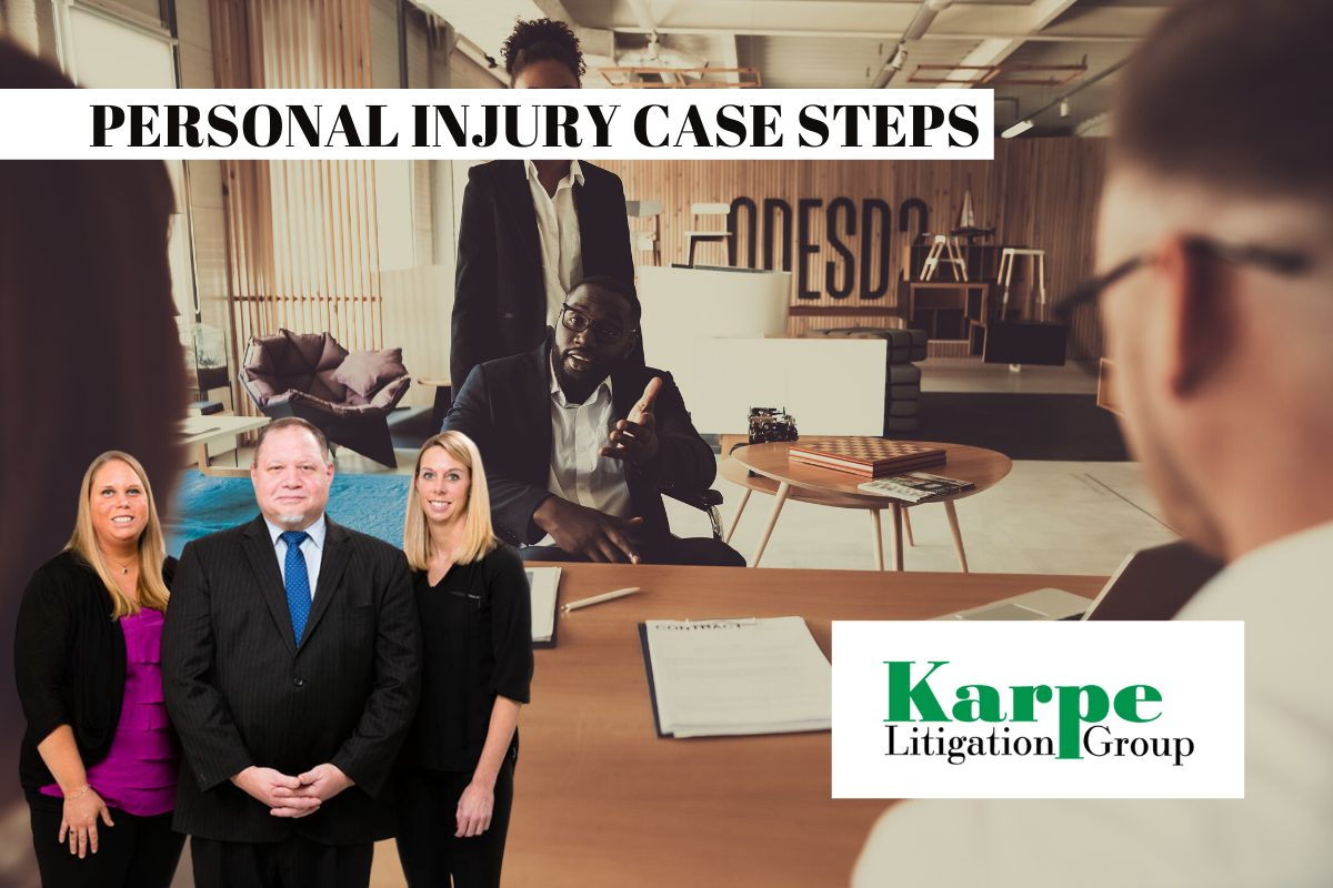 personal injury case process steps